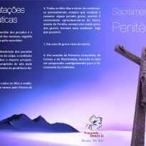 Folheto Reconciliação – Frente