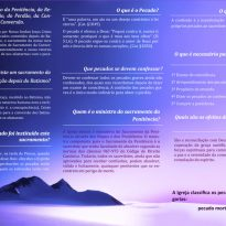 Folheto Reconciliação – Verso